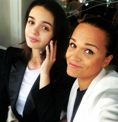 Слава с дочерью Славой