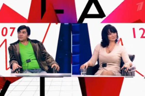 Степан Джигарханян и Элина Мазур