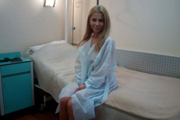 Екатерина готовится ко второму этапу коррекции фигуры