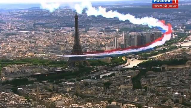 Франция представила свою презентацию будущих Игр