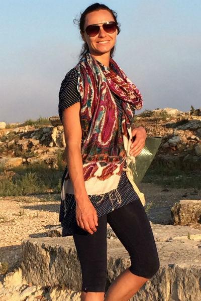 Ирина Ногина учит стретчингу и пилатесу