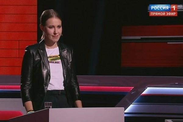 Владимир Рудольфович раскритиковал Ксению Собчак на своем шоу