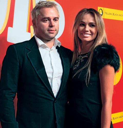 После неудачного брака Гогунский вернулся к первой супруге