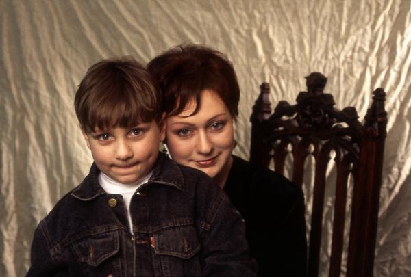 Мария Аронова с сыном Владиславом
