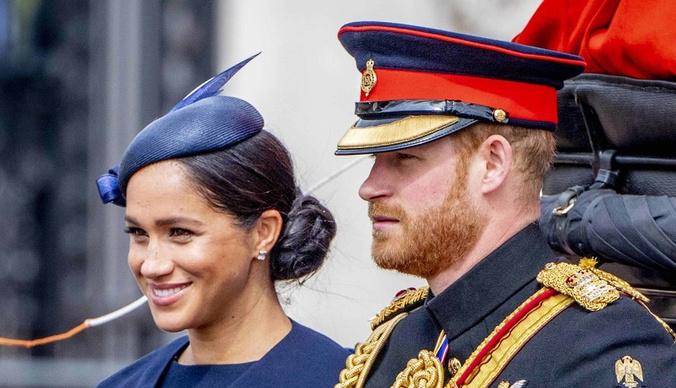 В Сети появилось новое фото сына принца Гарри и Меган Маркл