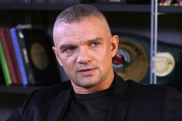 Владимир Епифанцев во время съемок передачи «Как в кино»