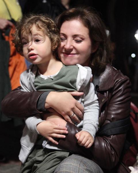 Трехлетняя дочь Анны сыграла в сериале... сына Александы Кушнир