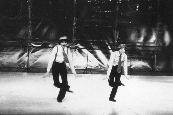 Егор в спектакле «Танц-класс» в ТЮЗе