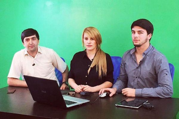 Ведущая часто брала интервью у дагестанских звезд