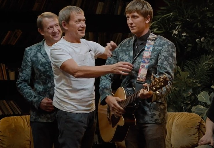 Артисты отметили внешнее сходство братьев с Щербаковым