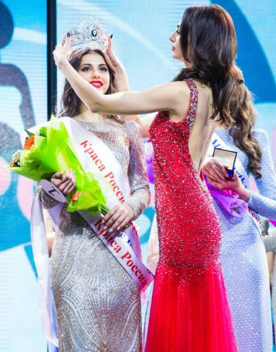 Победительница конкурса «Краса России» Лада Акимова
