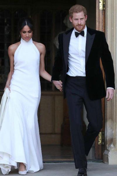 Два свадебных платья Меган Маркл стоили целое состояние