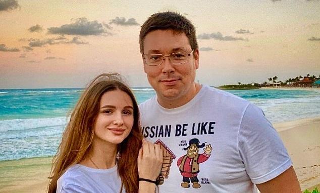 Андрей Чуев с женой