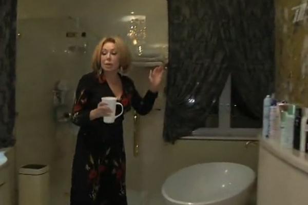 Ванная комната певицы