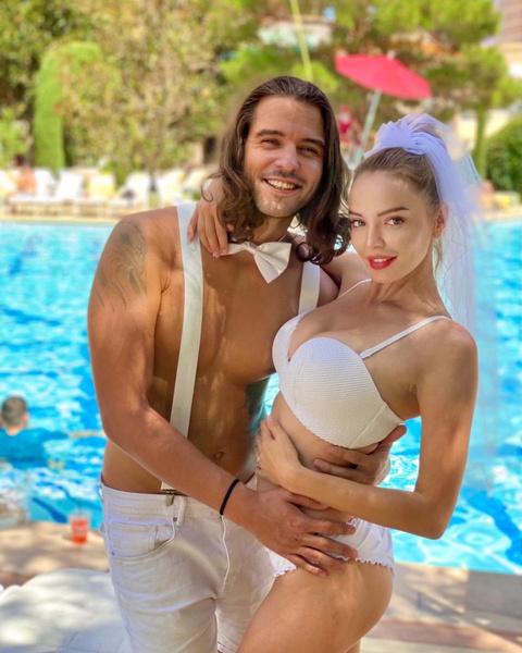 Марина Орлова с мужем Георгием Кирьяновым