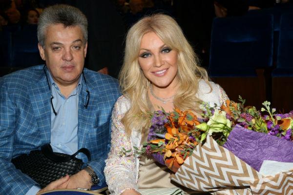 Таисия Повалий с супругом Игорем