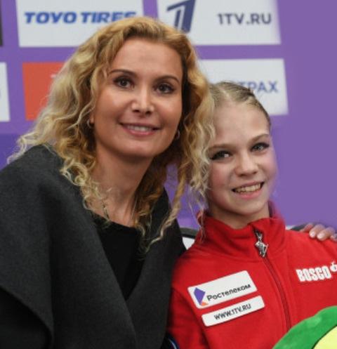 Этери Тутберидзе и Александра Трусова