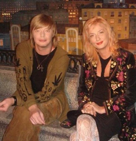 Андрей Григорьев-Аполлонов с сестрой Юлией