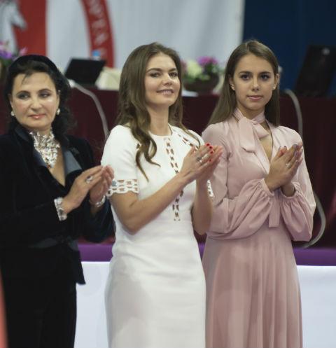 Ирина Винер, Алина Кабаева, Маргарита Мамун