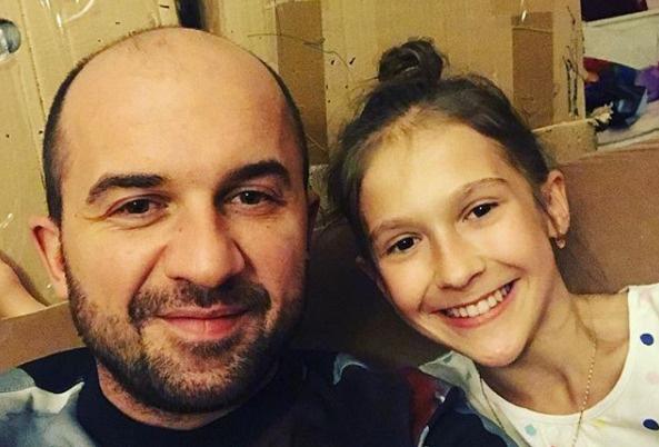 Павел с дочерью Полиной