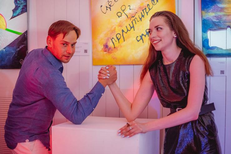 Александр Першиков и Анна Чех