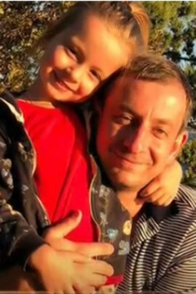 Сын актера с дочкой Софией