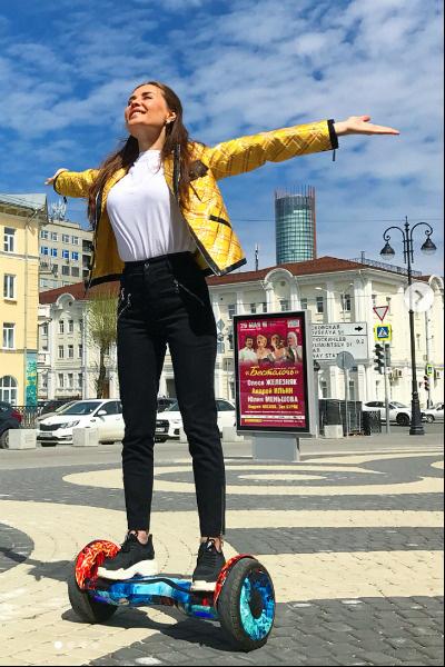 Юлия старается вести активный образ жизни