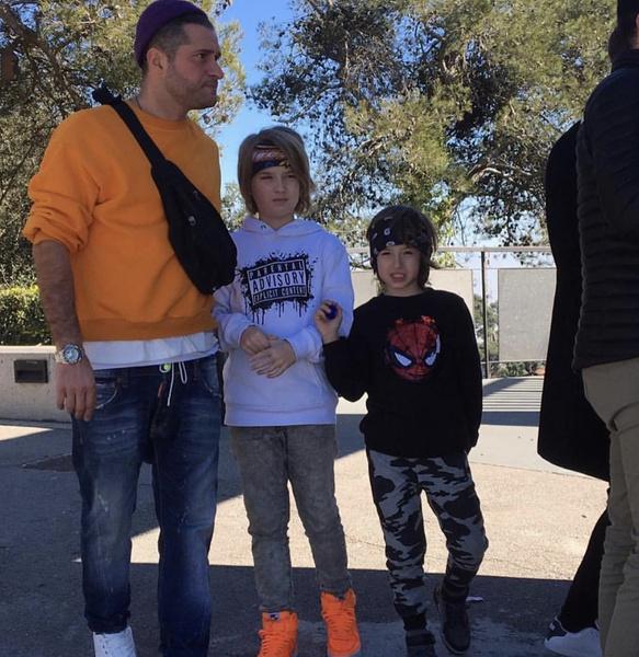 Ираклий с детьми