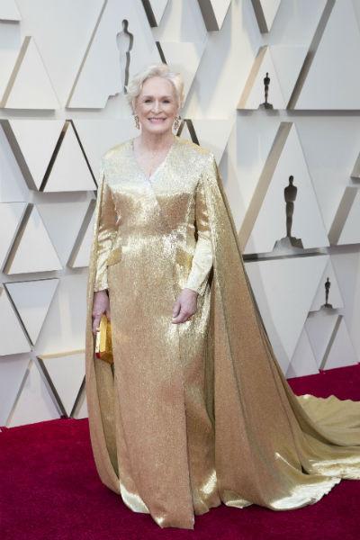 Гленн Клоуз в платье от Carolina Herrera