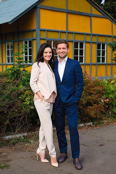 Анна и Дмитрий поженились в 2016 году