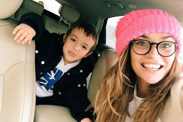 Сыну телеведущей в августе исполнится девять лет