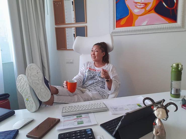 Анита Цой старается следить за рационом