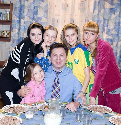 Сериал «Папины дочки» прославил всех исполнителей главных ролей