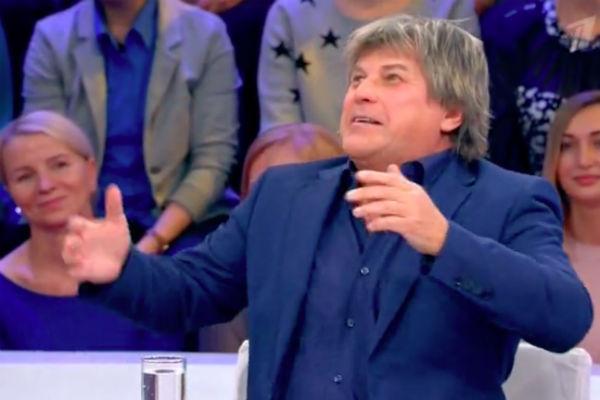 Алексей Глызин на программе «Сегодня вечером»