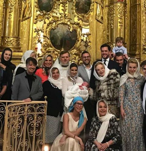 Крещение Аркадия прошло в кругу близких и родных