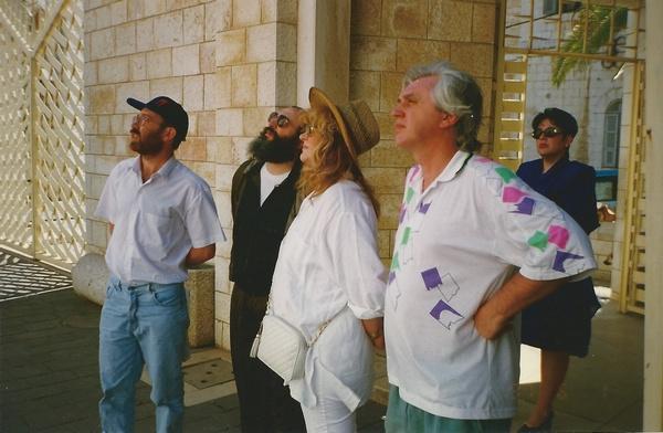 Алла Пугачева и Михаил Садчиков в Израиле