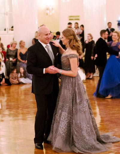 Лиза Мамиашвили с отцом