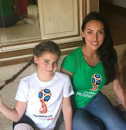 Алсу с дочерью Микеллой