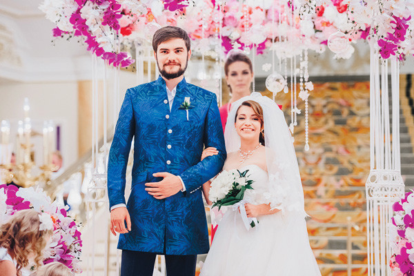 Ксения Сябитова с мужем Андреем