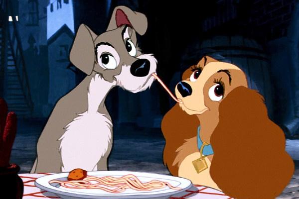 Миллионам зрителей знакома сцена ужина собак под песню Bella Notte