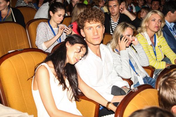"""Куркова и Бачурин на премьере фильма """"Географ глобус пропил"""""""