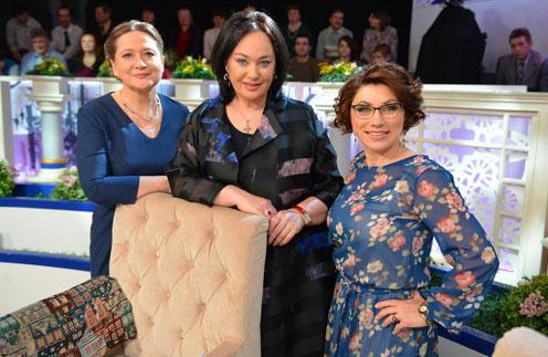 Тамара Глоба, Лариса Гузеева и Роза Сябитова
