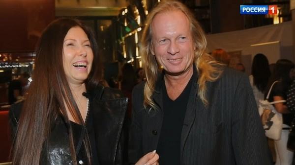 Крис с бывшей супругой Людмилой