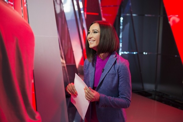Ольга Бузова снималась в павильонах канала «Матч-ТВ»