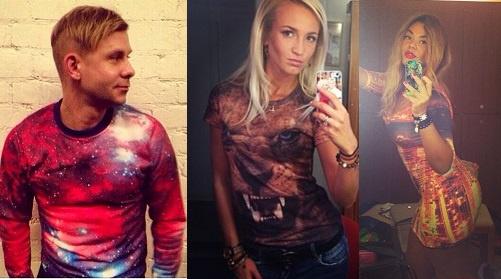 Митя Фомин, Ольга Бузова, Карнелия Манго в одежде iSwag shop