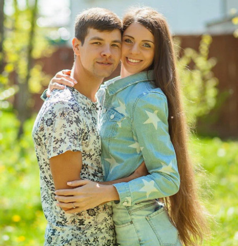 Ольга Рапунцель и Дмитрий Дмитриенко