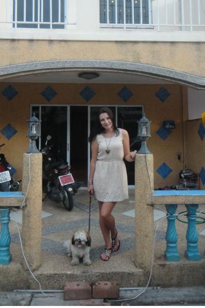22-летняя Дарья снимает двухэтажный дом в Паттайе