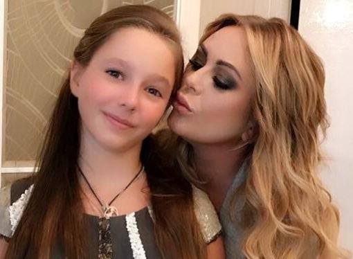 Дочь Юлии Началовой провела выходные с семьей отца