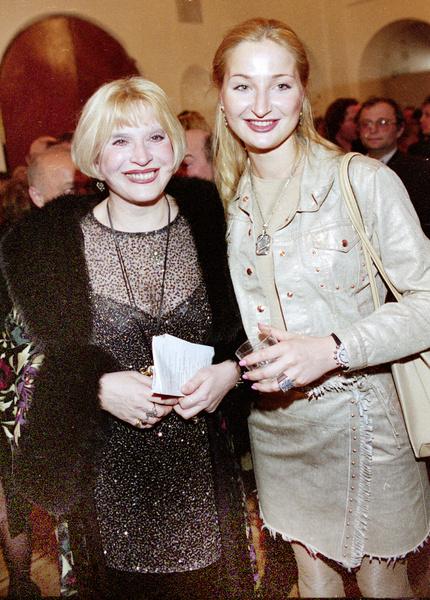 Мария Максакова с мамой Людмилой Васильевной