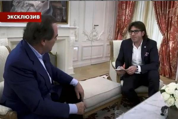 Андрей Малахов и Оливер Стоун